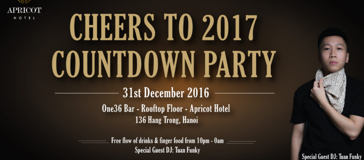 Apricot Hotel Countdown Party 2016