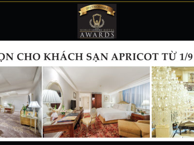 World Luxury Hotel Awards Apricot Hotel