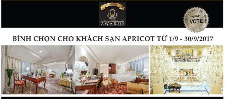World Luxury Hotel Awards Apricot Hotel
