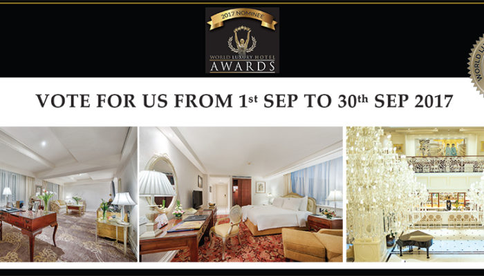 Apricot Hotel World Luxury Hotel Award