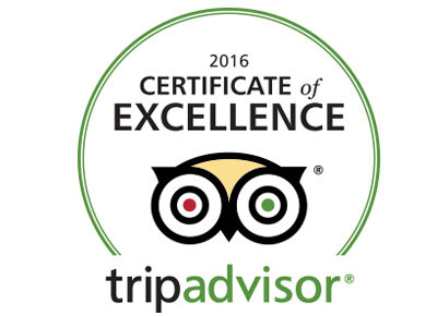 Apricot Hotel won TripAdvisor Certificate of Excellence 2016
