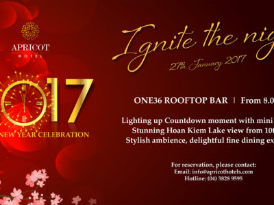 Apricot Hotel New Year celebration
